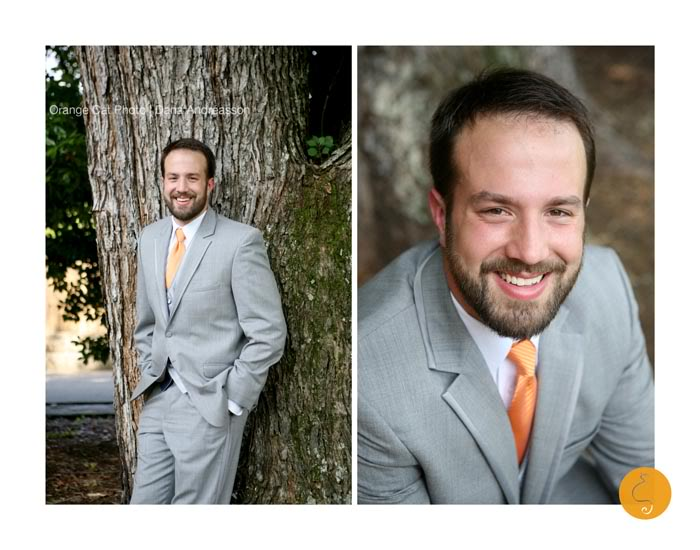 Orange Cat Photo, Asheville Wedding Photographer