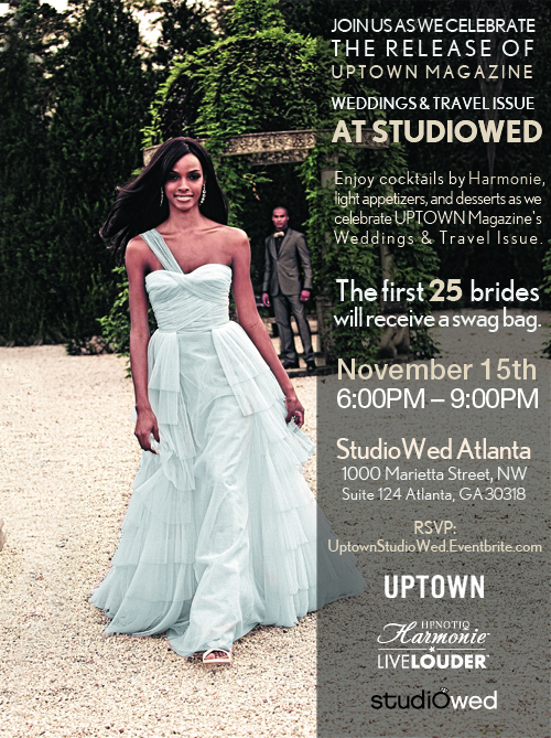 Uptown Magazine Event at StudioWed