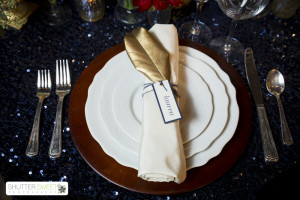 Table Setting from Classic Party Rentals