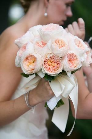 gorgeous garden rose bouquet