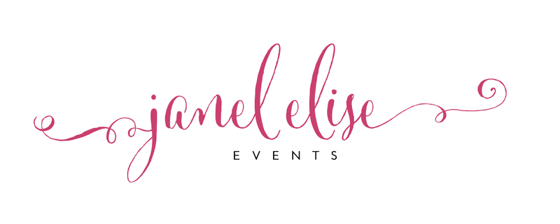 Janel Elise Events Logo
