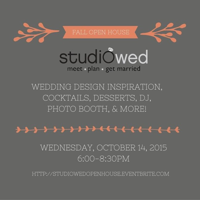 studiowed fall open house 2015