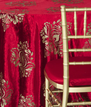 red velvet damask linen nuage designs studiowed