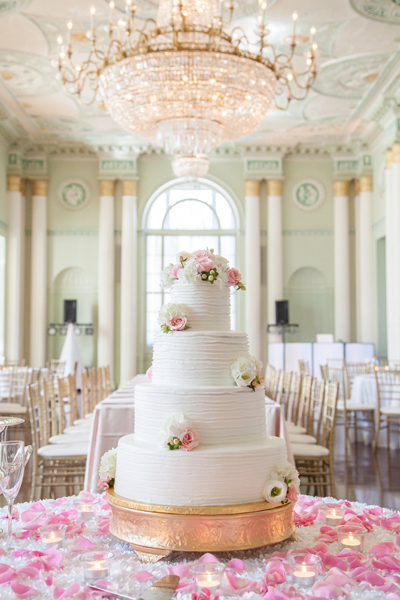 Biltmore-Ballrooms-Atlanta-Pink-and-Gold-Wedding-Cake