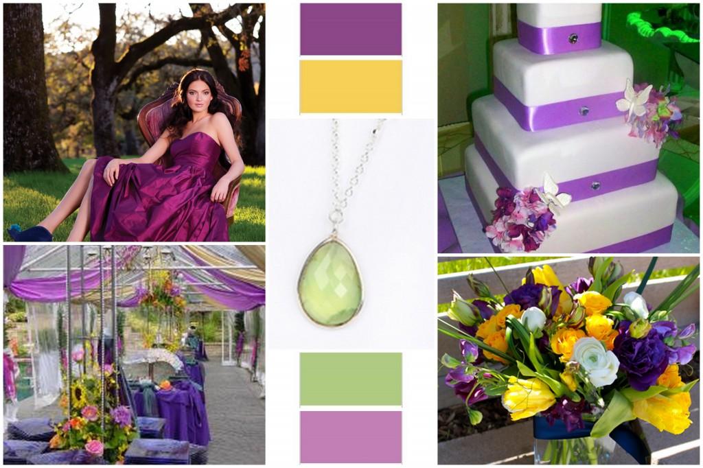 Purple And Green Wedding.Studiowed Denver Summer Wedding Inspiration Purple Green And Yellow